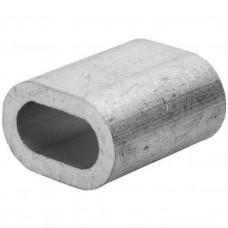 зажим троса алюм. 6 мм